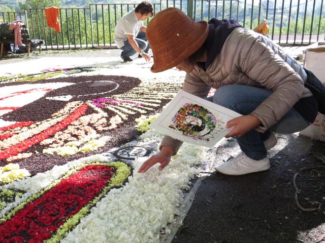 「恵比寿ガーデンプレイス スプリングフラワーカーペット」展開イメージ